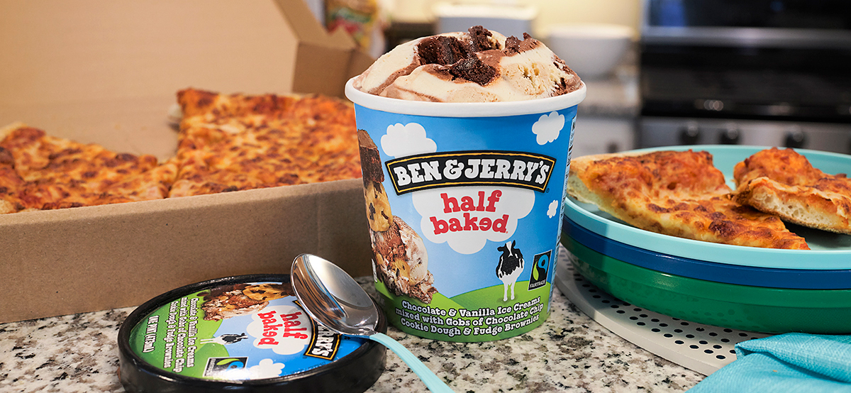 Ben & Jerry's Ice Cream Delivery